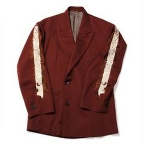 doublet LINE CHAOS EMBROIDERY TAILORED JACKET