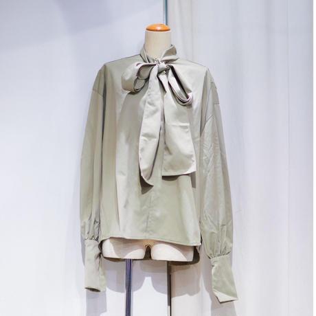 NATSUMI ZAMA   imperial Ribbon Pullover  | AW19_TOP 2