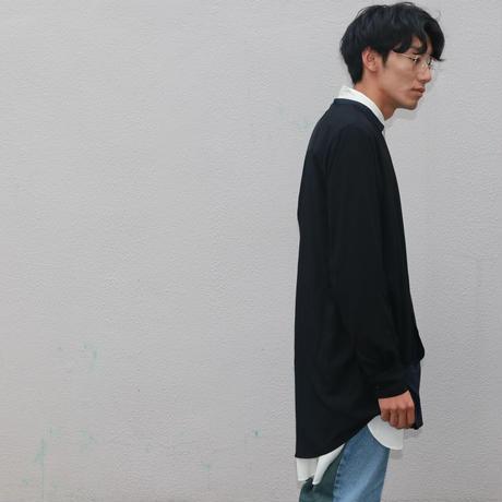 "P.E.O.T.W.AG   CACHE-COEUR SHT ""rayon""【BLACK】"