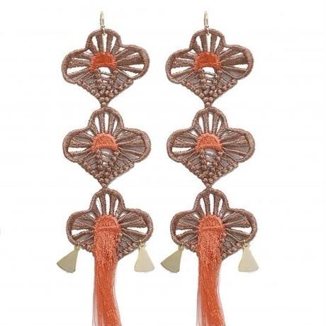 BANSAN  /  Lucky charm Piace/Earrings-TASOGARE