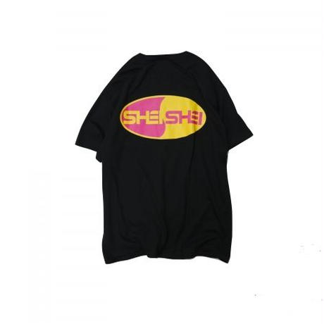 shei shei co.LTD SHEI SHEI 00's TEE (BLK) SS-19S-CT01-C