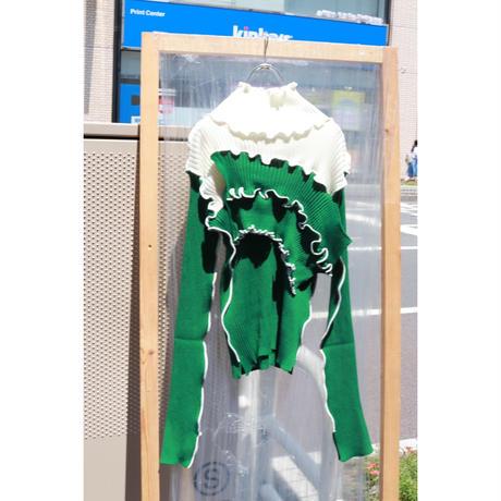 kotohayokozawa Rib knit high neck   TD19A-KN02