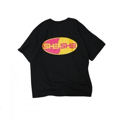 shei shei co.LTD SHEI SHEI 00's BIG TEE (BLK) SS-19S-CT02-C
