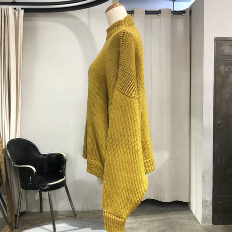 NIDO /  SW BUZO - Mustard  / AW18-KNIT5