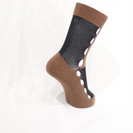 BANSAN Block Knit Plane Socks