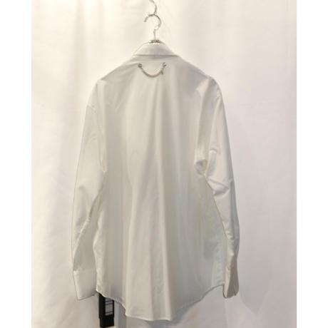 TAAKK  TIE SHIRTS(WHITE)  TA20AW-SH025
