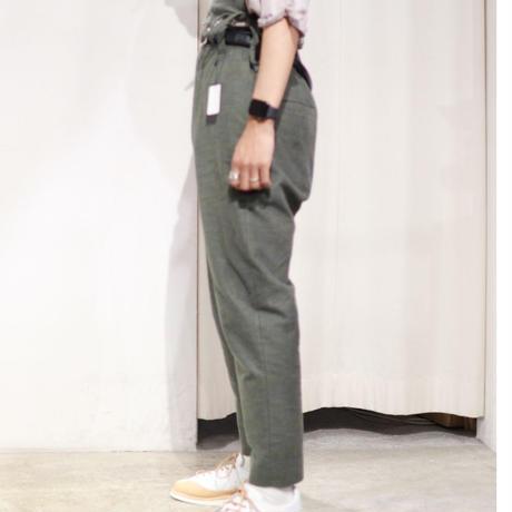 SYU.HOMME/FEMM |   Diagonal Hi-rise Slacks    H19aw-25