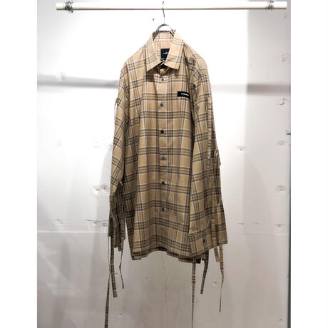SYU. HOMME/FEMM   H19ss-11②   Nu super arm shirt by C