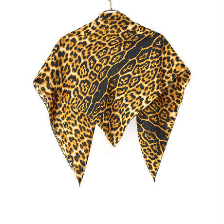 Sasquatchfabrix.  /  18AW-GOA-001 / ANIMAL PATTERN SCARF