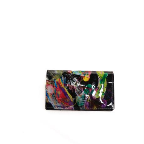 macromauro paint card case(black multi)