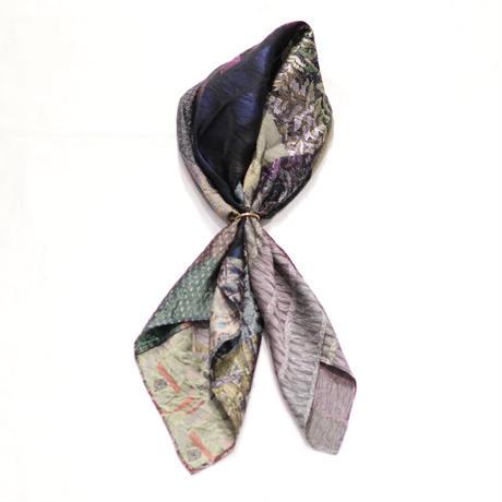 clamp | ACC-01 |Vintage Silk Scarf  b