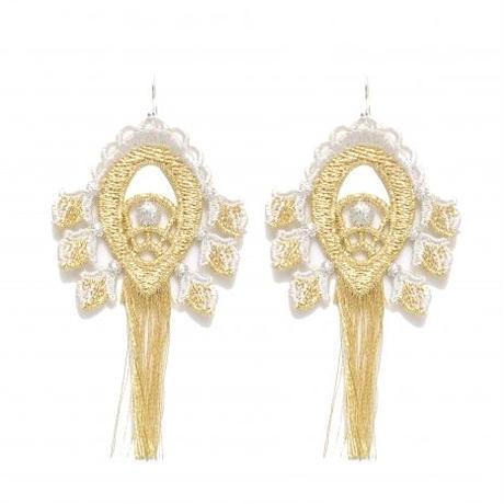 BANSAN  /  Utopia charm Pierce/Earrings-GOLD