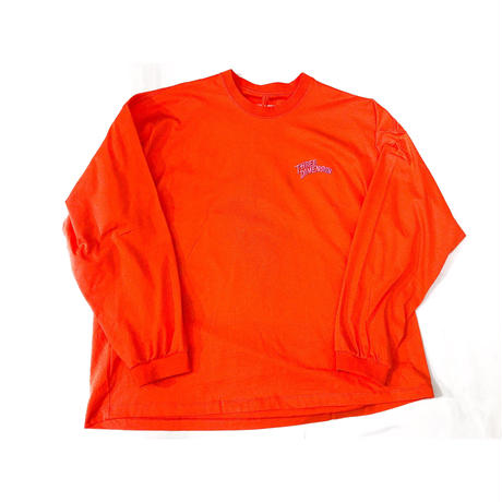 doublet /  CHAOS EMBROIDERY LONG SLEEVE T-SHIRT