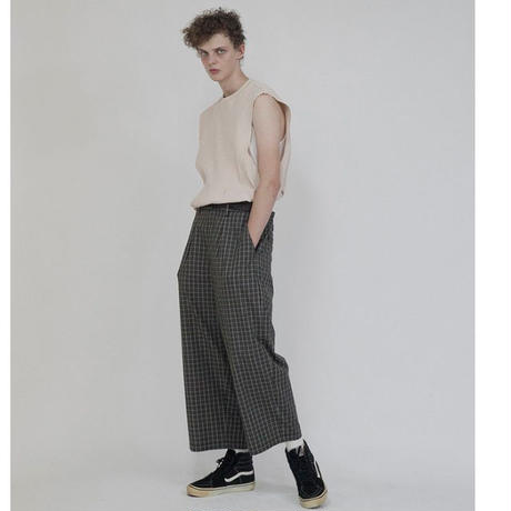 wonderland Check Pants | WL20SS-PT06