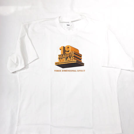 """doublet /  """"19SS""""3D EMBROIDERY T-SHIRT"""