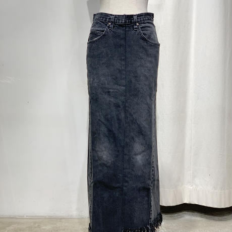 77circa | circa make long denim skirt