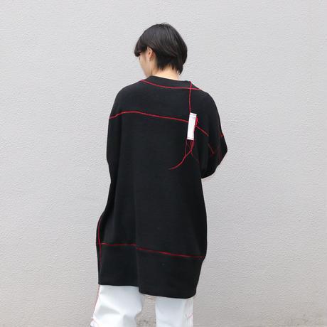 osakentaro  big stitch long pullover 2003340