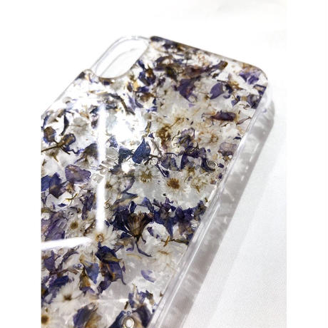 ANSEASON ANREALAGE  /  ACRYLIC FLOWER CASE for iPhone X