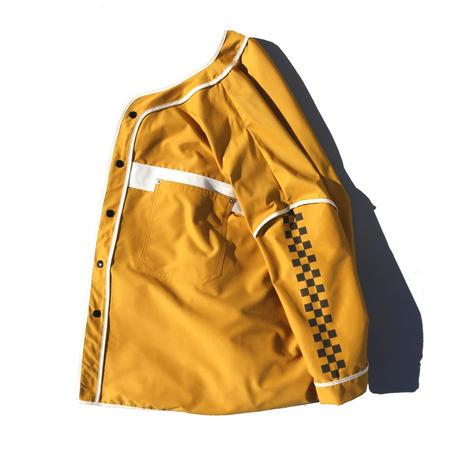 elephant  TRIBAL fabrics × IAAAM  / 超ワイドベースボールシャツ(IAAAM 別注)
