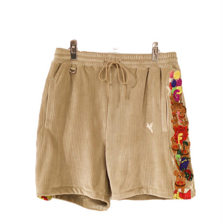 doublet  CHAOS EMBROIDERY COMFY SHORT PANTS 21SS24PT151