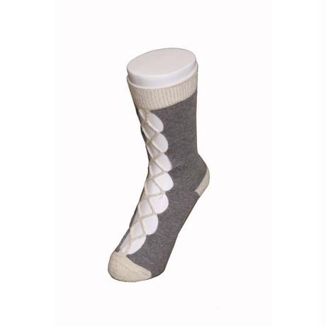 BANSAN  /  special knit socks - GRAY