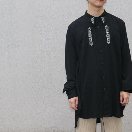 """P.E.O.T.W AG  LONG SHT """"rayon""""【BLACK】 S-030-003"""