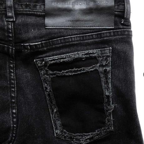 "P.E.O.T.W AG | 3D SKINNY ""DMG""【Black】"