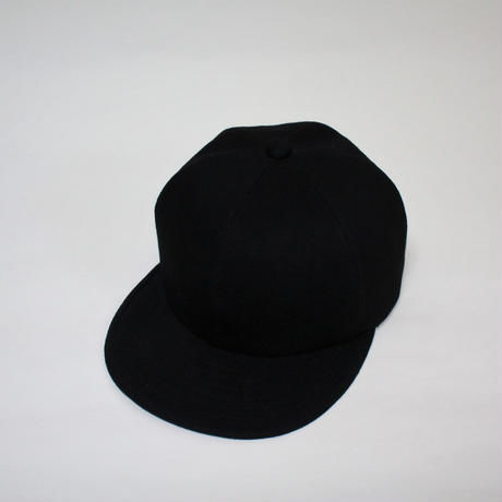 mitake / black denim cap(BLACK)