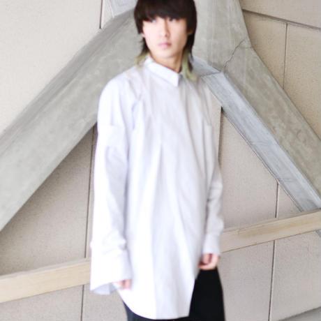 YUKI HASHIMOTO  CROSSOVER LONG SLEEVE OFFICER SHIRTS