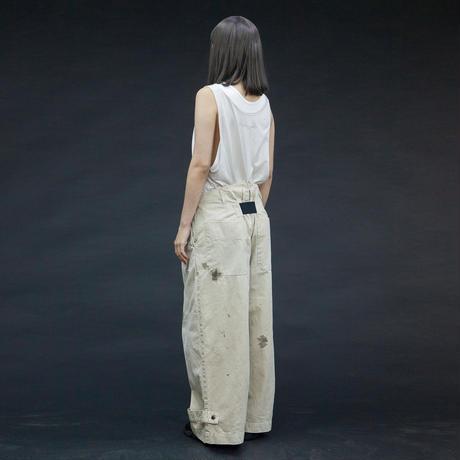 my beautiful landlet chino tuck wide pants (PAINT)