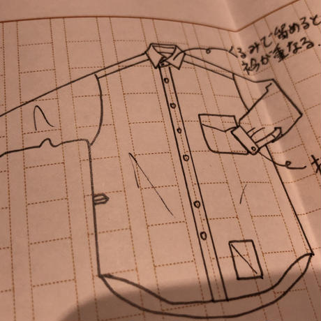 SOSHIOTSUKI     ENDING CUTTER SHIRTS   S20SSSH01C