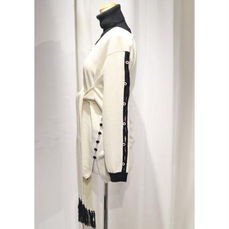 BANSAN Belt wool kint & Turtleneck Cover  BSAW20-KT002
