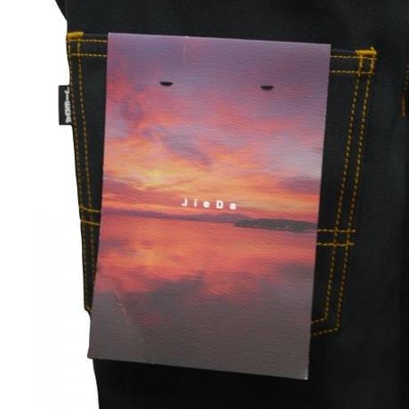 JieDa  FLARE PANTS(BLK) Jie-STD-PT06