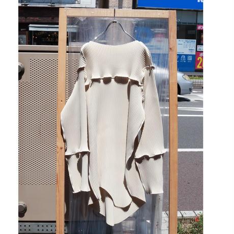 kotohayokozawa Pleats mini dress   TD19A-OP