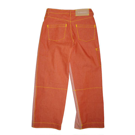 osakentaro zigzag stitch denim pants  no.2004349