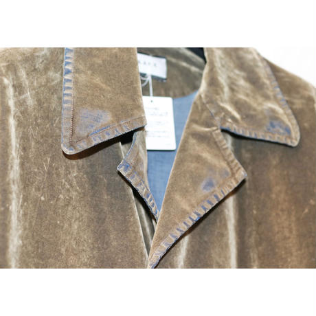 TAAKK VELVET DENIM (BROWN) TA20AW-CO007