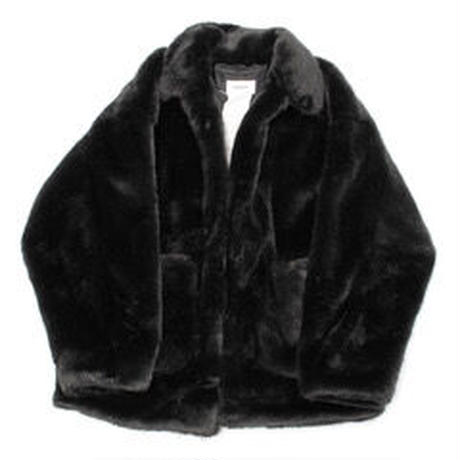 doublet  HAND-PAINTED FUR JACKET 20AW04BL90
