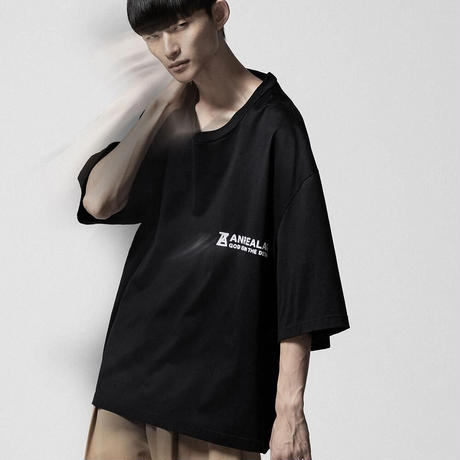 anrealage  ZOOM ONE POINT T-SHIRT AST2107