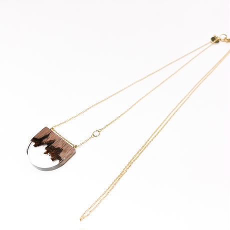nooca  /  折木半円ネックレス小  /  nw022nl