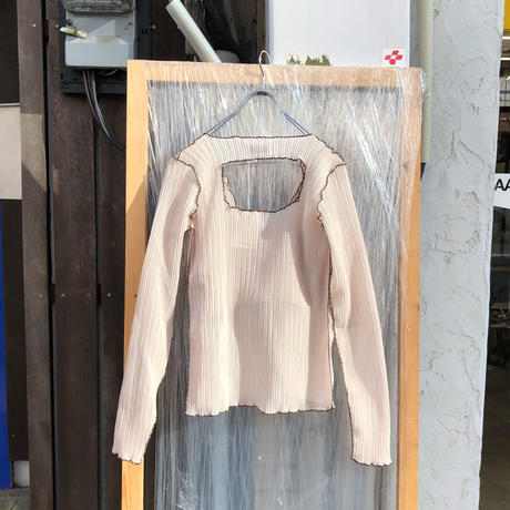 kotohayokozawa Pleats jacket and top    TD20S-JK