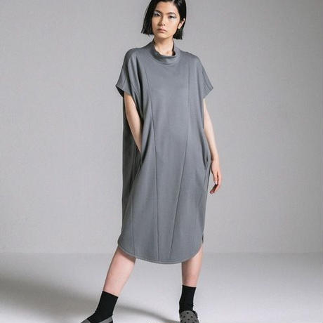 ANREALAGE HIGH ANGLE HIGH NECK ONE PIECE