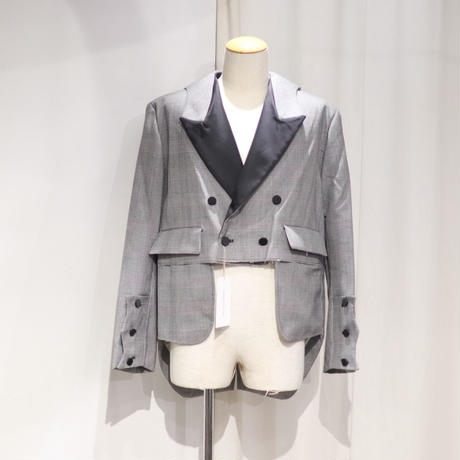 SOSHIOTSUKI SLASHED MORNING SUITS | S19AWJKT03