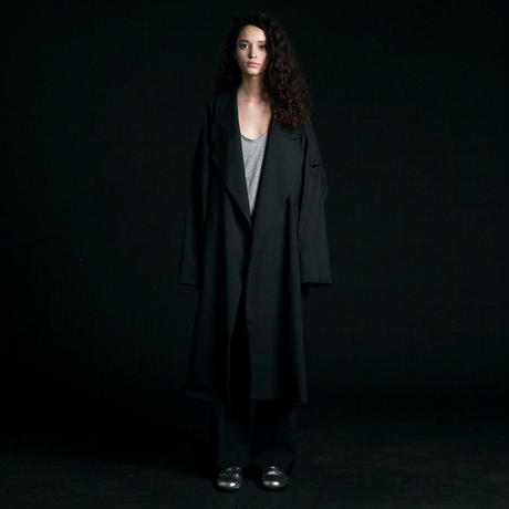 my beautiful landlet  worsted wide long coat