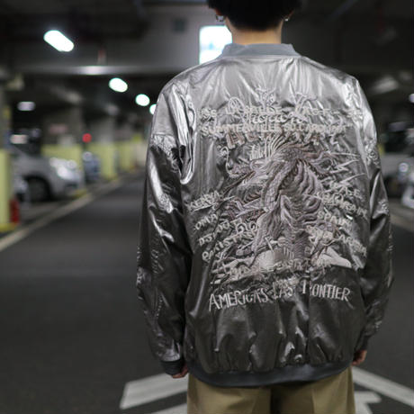 doublet  GRADATION CHAOS EMBROIDERY BLOUSON 21SS11BL117