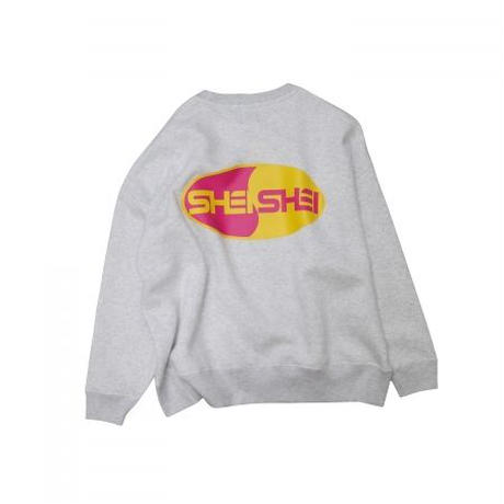 shei shei co.LTD SHEI SHEI 00's BIG SWEAT CREW (GRY) SS-19S-CT04-C