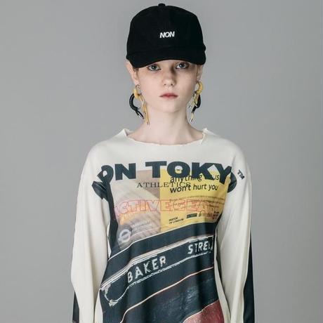 NON TOKYO / 2020A/W RIB CREW NECK TOP (PRINT/J16)