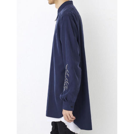 "P.E.O.T.W AG  LONG SHT ""embroidery""【Navy】"