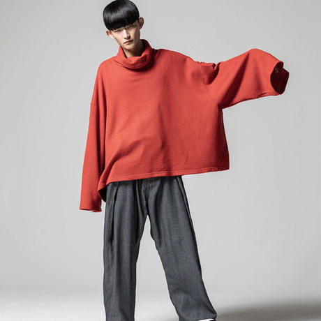 ANREALAGE ZOOM TURTLE NECK LONG SLEEVE