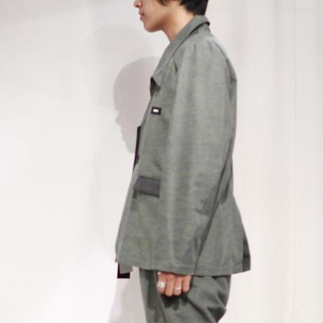 SYU.HOMME/FEMM |  Diagonal Not suits Jkt   H19aw-15