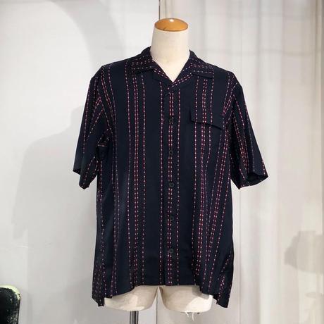 TAAKK /  TA19SS-SH009  / DOTS STRIPE jacquard s/s shirt